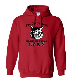 The Cat Is Back Hooded Sweatshirt