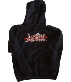 Black Lynx Hooded Sweatshirt